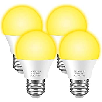 Minger Bug Light Bulb Yellow Led Bulbs Amber Bug Free