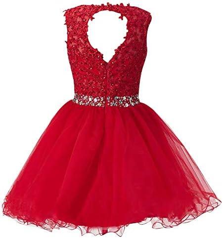 SongSurpriseMall - Robe - Trapèze - sans Manche - Femme Rouge Rouge - Rouge - 2 Mois
