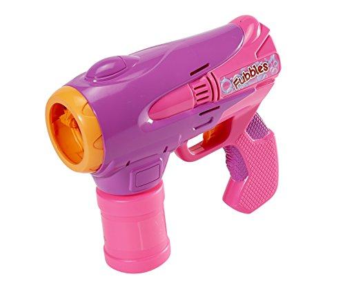 Large Shooter (Little Kids Fubbles Fubblezooka Big Bubble Blowing Gun Includes 4 oz of Bubble Solution, Pink/Purple)