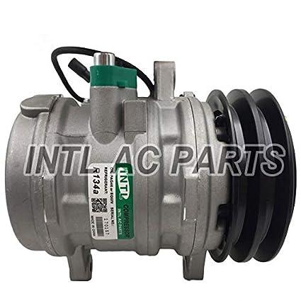 Car Ac Compressor >> Amazon Com New Auto Car Ac A C Compressor W Clutch Sp10 For