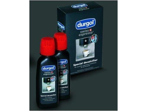 Durgol Swiss Espresso Machine Decalcifier/Descaler Solution, 4 Count