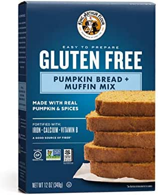 Baking Mixes: King Arthur Gluten Free Pumpkin Bread Mix
