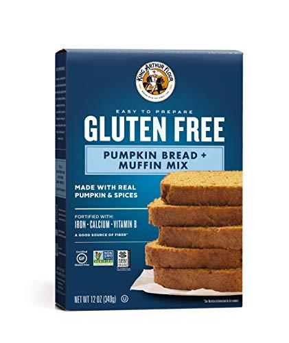 - King Arthur Flour, Pumpkin Bread + Muffin Mix, Gluten Free, 12 Ounce