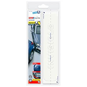 Tesa 59932-00000-02 - Auto protector de parachoques, 2 x 24 cm x 5 cm