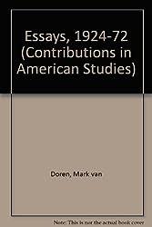 mark van doren essays Van doren joined the a collection of essays today the students of columbia college honor great teachers with the mark van doren award.