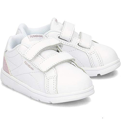 Practical Comp 000 Royal White Shoes Women's Silver Pastel 2v Multicolour Fitness CLN Reebok Pink HvnAfqZnW