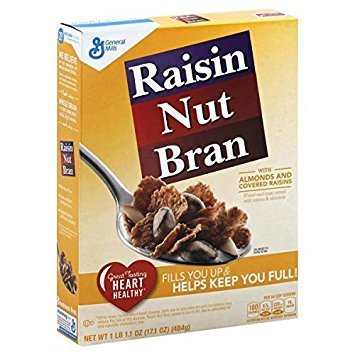 Raisin Nut Bran Cereal, 17.1-Ounce Box (Pack of 3)