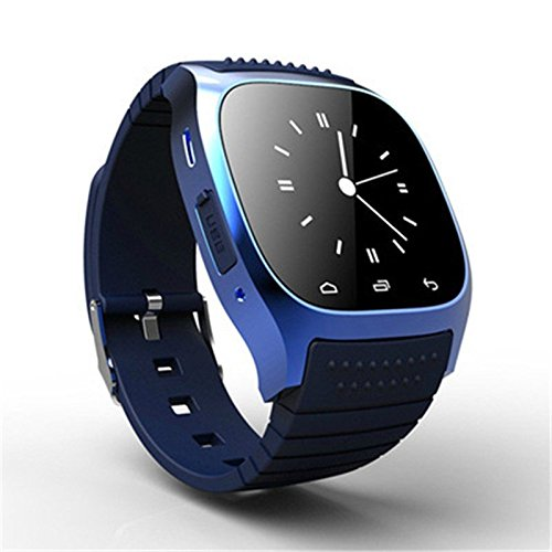 Ace M26 Bluetooth Smart Watch wristwatch smartwatch With LED Alitmeter Music Player Pedometer For Apple IOS Android Smart Phone - Wrist Band Ace