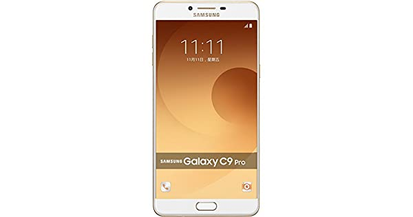 Samsung Galaxy C9 Pro Dual Sim - 64GB, 6GB RAM, 4G LTE, Gold: Amazon