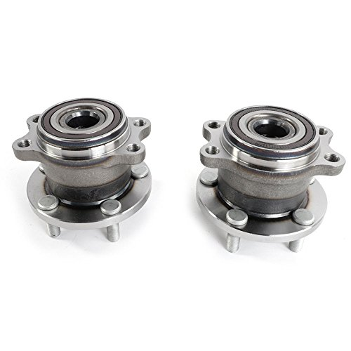 2Pcs Both Rear Wheel Bearing And Hub Assembly Set 512293 Pair for 05 06 07 08 09 Subaru Legacy Outback 5Lug With ABS On Hub