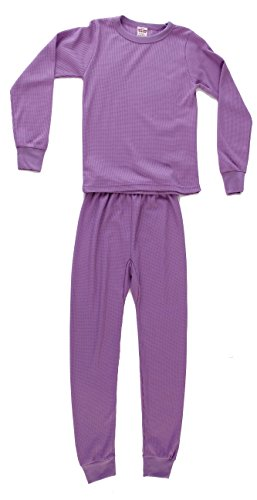 Just Love 95462-Lilac-7/8 Thermal Underwear Set for Girls