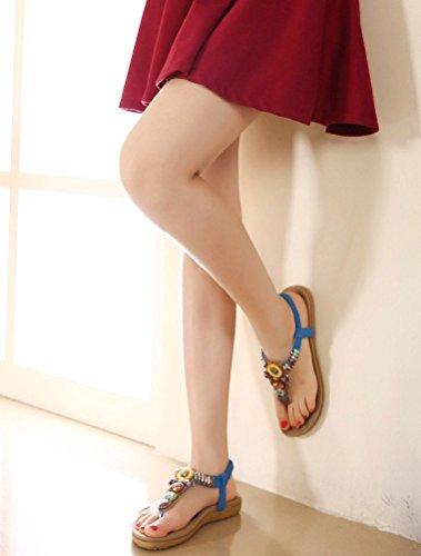 bleu Flops Style2 Matchlife Sandales Flip Femmes xpwCt6qX