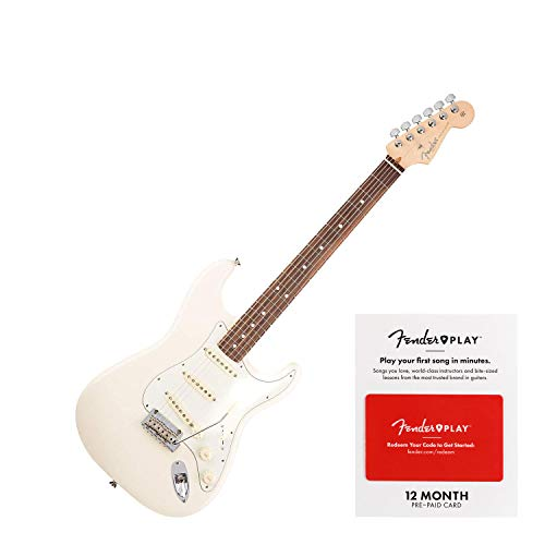 (Fender American Professional Stratocaster - Olympic White w/Rosewood Fingerboard)
