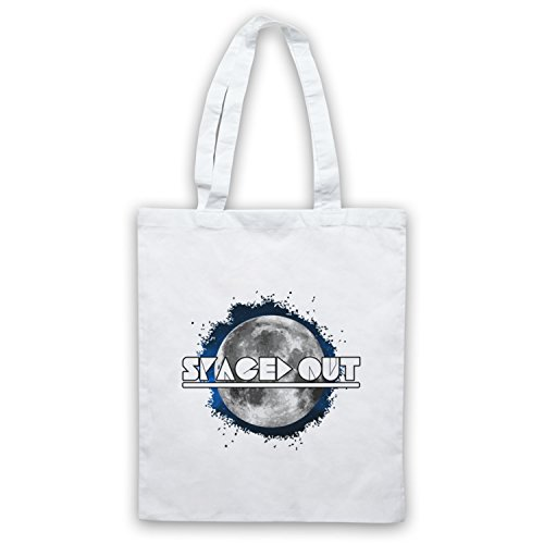 Spaced Out Astronomy Lover Bolso Blanco