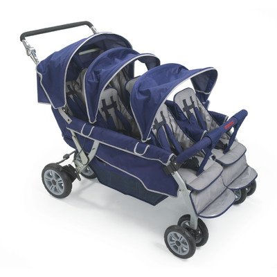 Angeles 6 Seat Stroller - 2