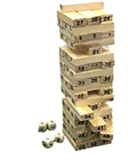 Travel/Miniature Jenga -  54 pcs - A perfect gift