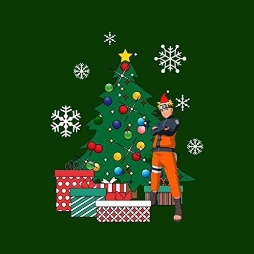 Christmas Christmas Cloud Cloud Cloud 7 Tree Bottle Sweatshirt Naruto Green The City Around Women's rSSTgUXq
