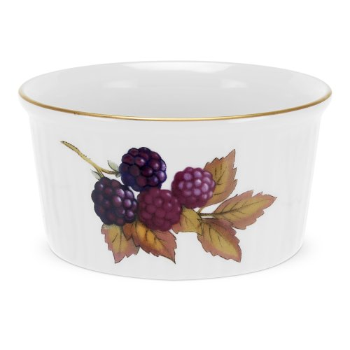 Royal Worcester Fine Porcelain - Royal Worcester Evesham Gold Ramekin, Set of 4