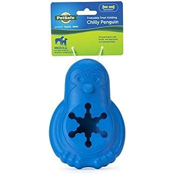 PetSafe BB-Penguin-ML Chilly Penguin Treat Holding Dog Toy