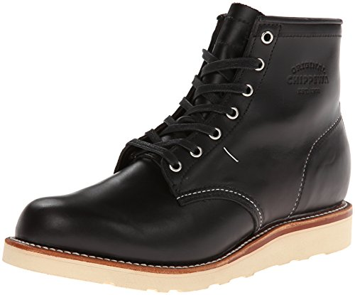 Original Chippewa Collection Men's 1901M15 6 Inch Plain Toe Boot, Black Whirlwind, 11 D US ()