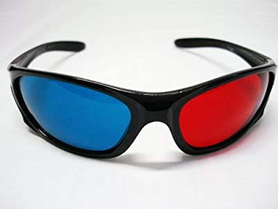 3D Sunglasses Red/blue