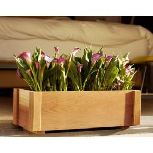 - 48 Inch Redwood Pasadena Window Box Planter