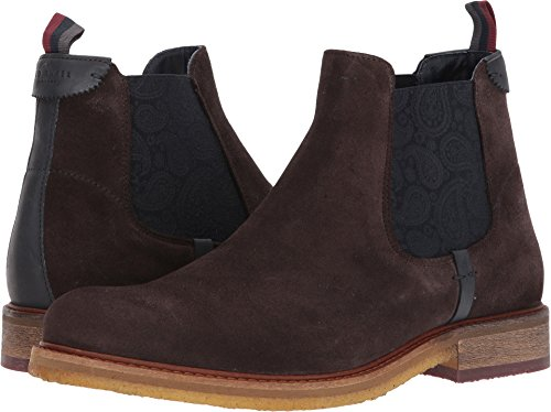 Ted Baker Men's Bronzo Ankle Boot, Brown, 9 M US by Ted Baker