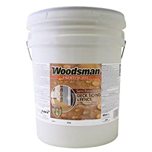 True Value Stovn 5gal Woodsman Neutral Base Oil Deck And