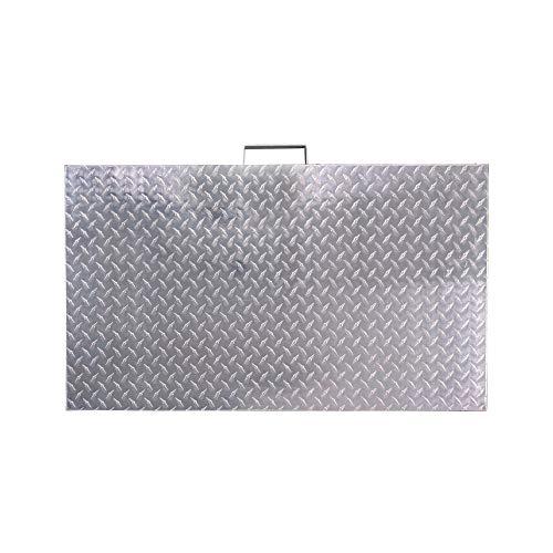 Titan Diamond Plated Aluminum Grill Cover Fits 28
