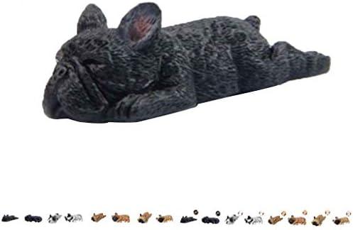 Gankmachine DIY Resina soñolien Bulldog Animales Nevera Imán de ...