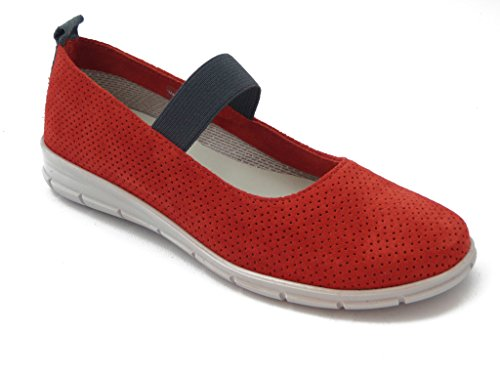 Chamois The Rubber Easy'n Women's 193105 Red jane Shoe sole Rose Summer mary BBagqY