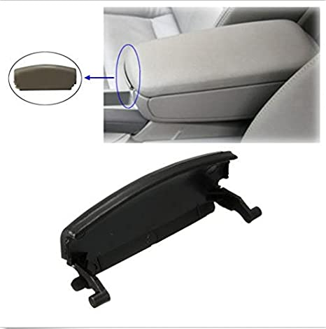 3 Colors Car Armrest Repair Lid Console Cover Center Armrest Lid Latch Clip Catch Latch Clip Catch for A4 B6 2000-2005 black