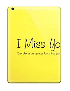 Shauna Leitner Edwards's Shop 5136303K31479794 New I Miss You Tpu Case Cover, Anti-scratch Phone Case For Ipad Air