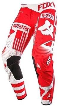 Fox Racing Flexair Union Pants Red Size 30 15757-003-30
