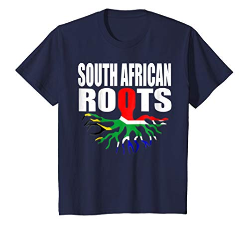 Kids Storecastle: South African Roots South Africa Flag T-Shirt 12 Navy by Storecastle South Africa Collection