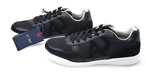 Armani 9350446a441, Sneaker Basse Uomo Nero
