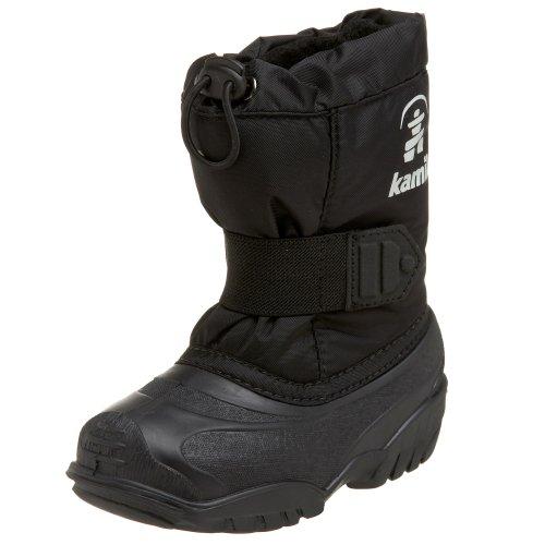 Kamik Tickle NK9341 - Botas de nieve infantiles negro