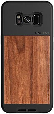 sale retailer 68142 55ee2 Galaxy S8+ Case || Moment Photo Case in Walnut Wood - Thin ...