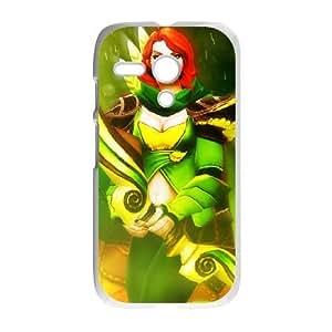 Motorola G White phone case Windranger Dota 2 DOT9524815
