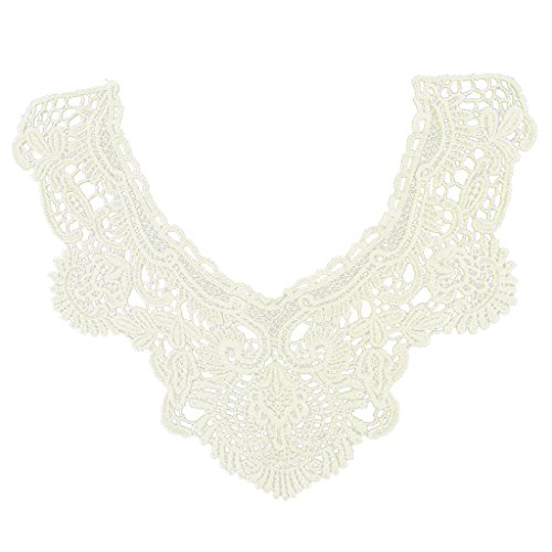 Flower Neckline Collar Charming Applique product image