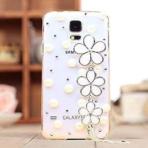 PEACH Diamond Sakura Back Cover Case for SAMSUNG Galaxy S5 I9600(Assorted Colors)