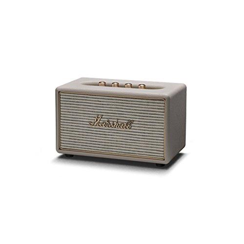 Marshall 04091913 Acton Wireless Multi-Room Bluetooth Speaker Cream by Marshall