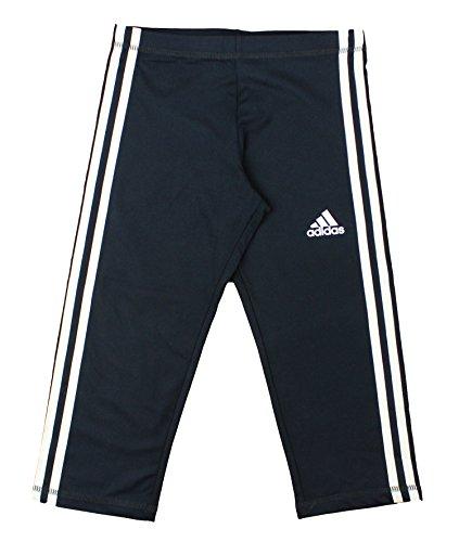 Clima Soccer Polo (Adidas Youth Big Girls Global Capri Leggings (Large (14),)