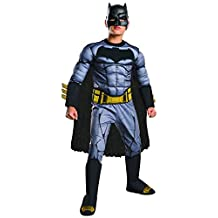 Rubies Costume Batman Vs Superman: Dawn of Justice Deluxe Muscle Chest Batman Costume, Medium, One Color