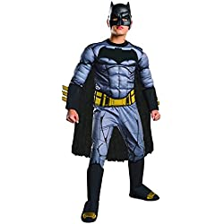 Rubie's Batman v Superman: Dawn of Justice Deluxe Muscle Chest Batman Costume, Medium