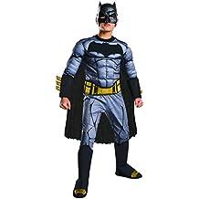 Rubie's Batman v Superman: Dawn of Justice Deluxe Muscle Chest Batman Costume, Medium