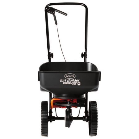 Spreader Drop Lawn (Scotts Turf Builder EdgeGuard Mini Broadcast Spreader (Holds up to 5,000 sq ft))