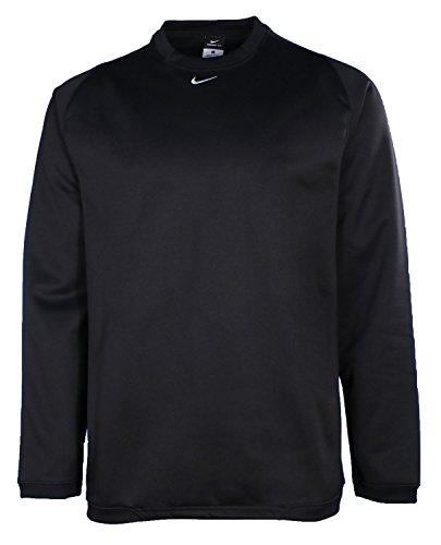 Nike Men's Team Tech Crew Neck Fleece Sweatshirt-Black-XL