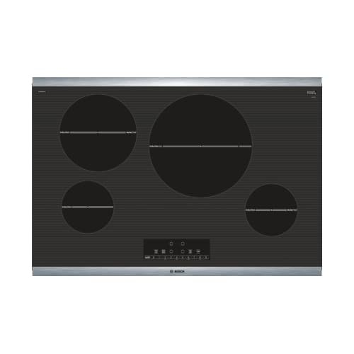 NIT8068SUC 30 800 Series Induction Cooktop with 4 Elements AutoChef Independent Countdown Timer and SpeedBoost in Stainless Steel (Bosch Cooktop 30)
