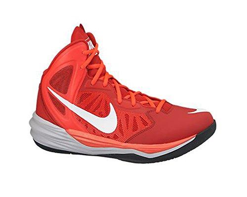 Nike Prime Hype DF - Zapatillas de basketball para hombre Uni Red/Laser Crimson/Wolf Grey/Wht